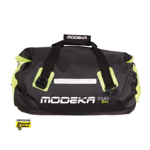 Cestna torba - 45L črna/neon