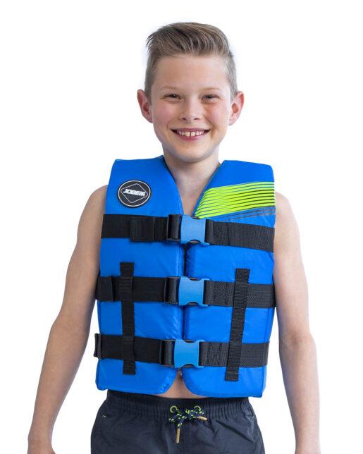 Jobe Nylon Rešilni jopič Otroški modra
