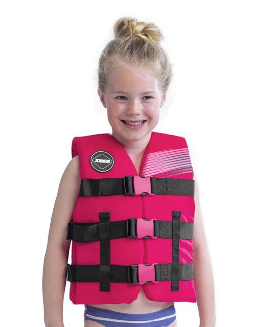 Jobe Nylon Rešilni jopič Otroški Hot Pink
