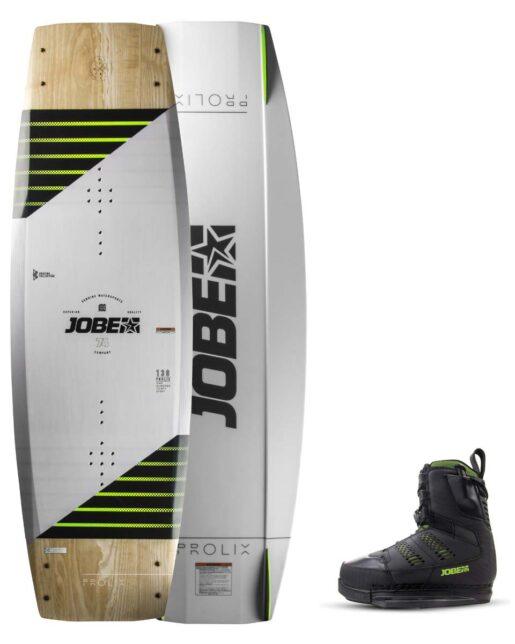 Jobe Prolix Wakeboard Premium 143 & Nitro Vezi črna Set