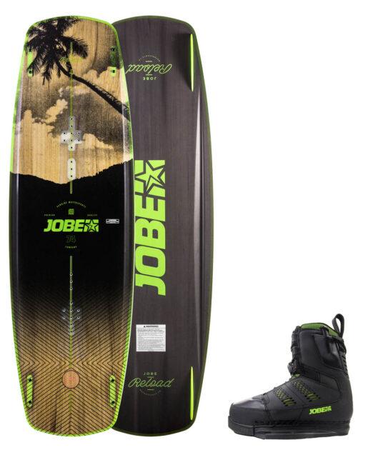 Jobe Reload Wakeboard 144 & Nitro Vezi Set črna