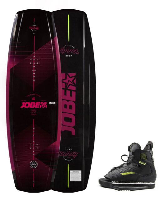 Jobe Vanity Wakeboard Ženski 136 & Unit Vezi Set