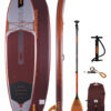 Jobe Yarra 10.6 Inflatable Paddle Board Package rdeča