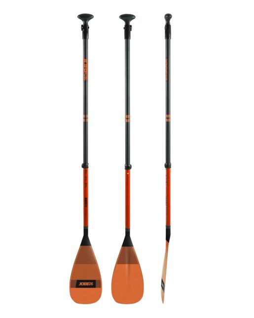 Jobe Fiberglass SUP Paddle oranžna 3-piece