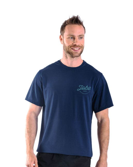 Jobe Majica kratka Moški Midnight modra