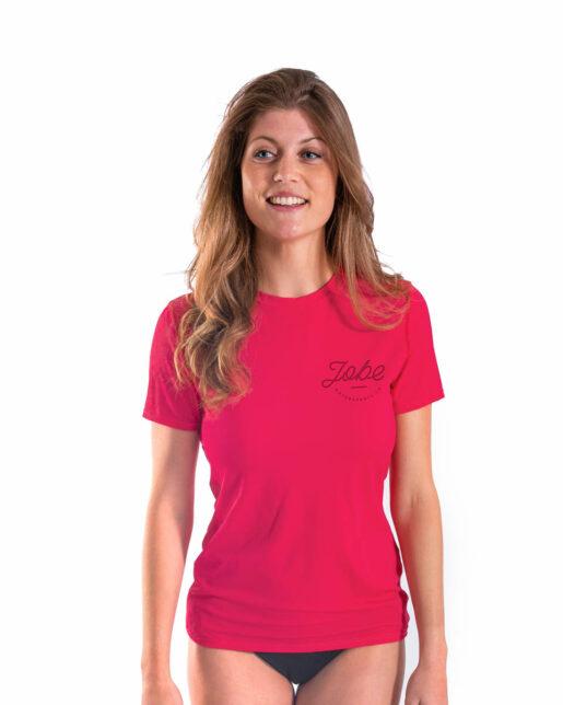 Jobe Majica kratka ženska Hot Pink