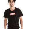 Jobe Logo Majica Moški črna