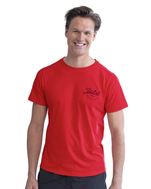 Jobe Casual Majica rdeča