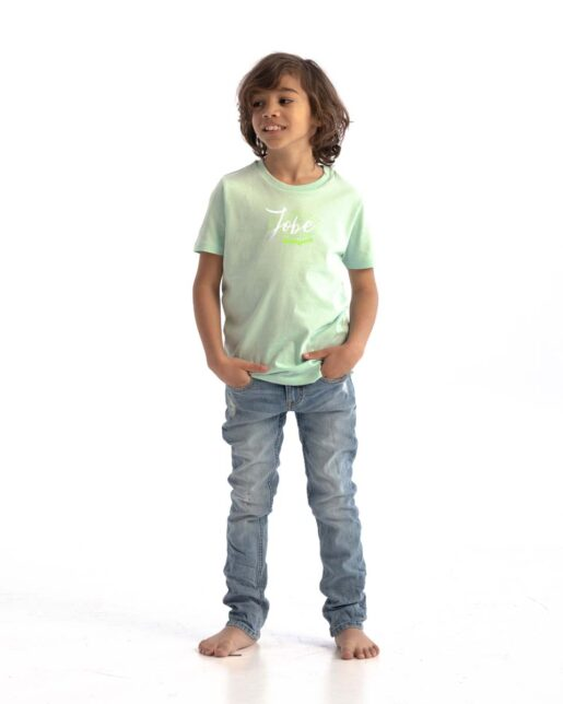 Jobe Casual Majica Otroška Geyser Zelena
